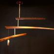 Balanced mobile chandelier